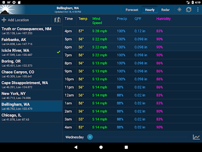 NOAA Weather Unofficial (Pro) Screenshot