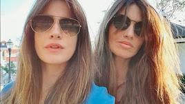 Isabel Jiménez junto a su amiga íntima Sara Carbonero.