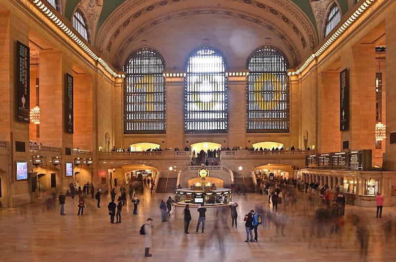 Viaggiatori a Grand Central NY di Alduccio