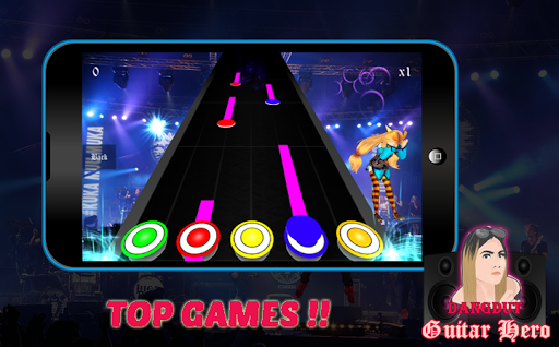 Dangdut Guitar Hero 1.0 screenshots 3
