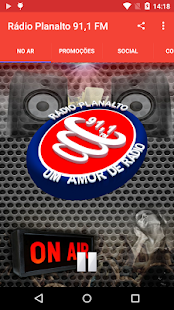 Rádio Planalto 91,1 FM - náhled