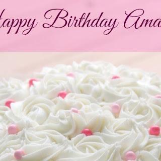 Amanda's Birthday Cake