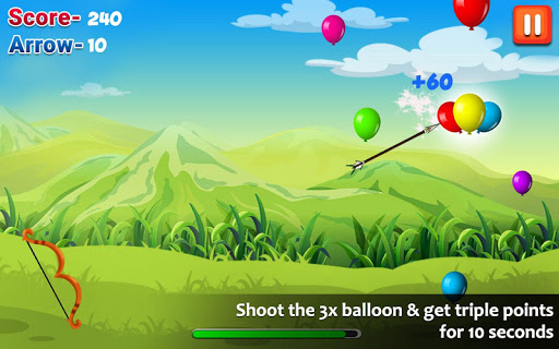 Balloon Shooting : Smash Hit The Rising Up Balloon apkpoly screenshots 3