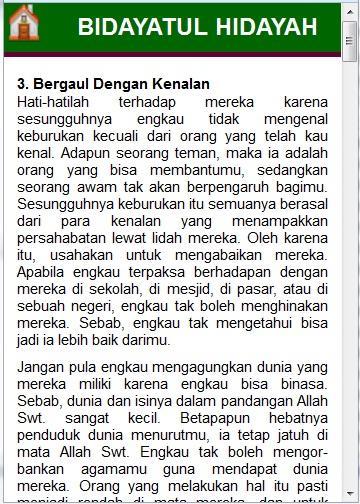 Terjemah Bidayatul Hidayah Pdf