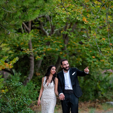 Wedding photographer Kostas Sinis (sinis). Photo of 15.12.2017