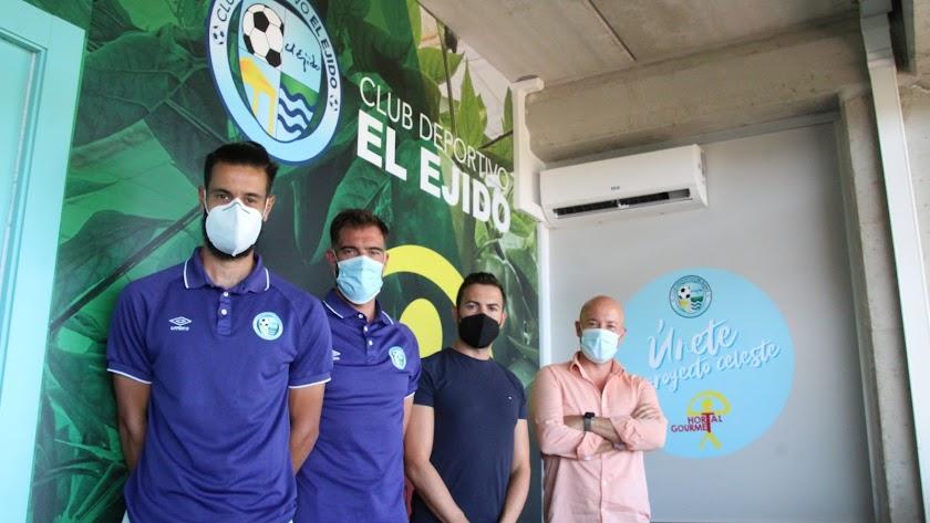 El CD El EJido y las empresas se unen para vivir la temporada.
