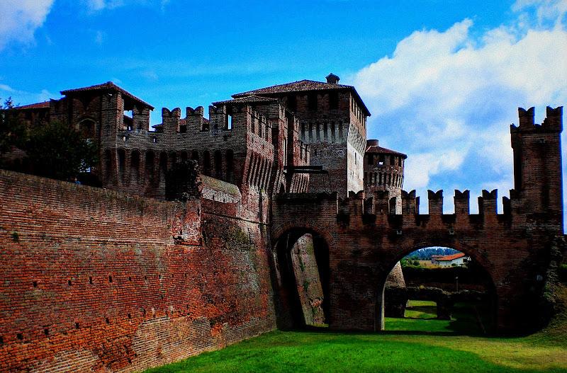 Castello di Soncino a difesa della Lombardia di loveombra