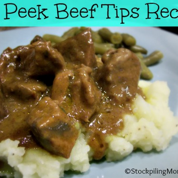 No Peek Beef Tips