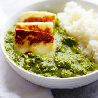 Spinach Curry with Paneer Cheese | Palak Paneer Recipe
