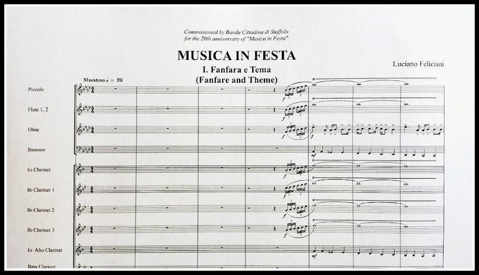 Musica in Festa del Maestro Luciano Feliciani