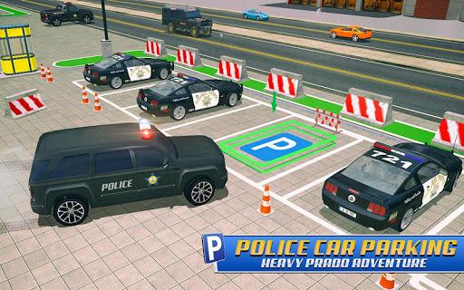 Police Car Parking: Police Jeep Driving Games apktram screenshots 12