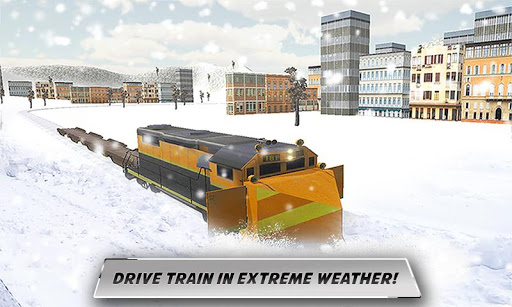 Snow Plow Bullet Train Driver