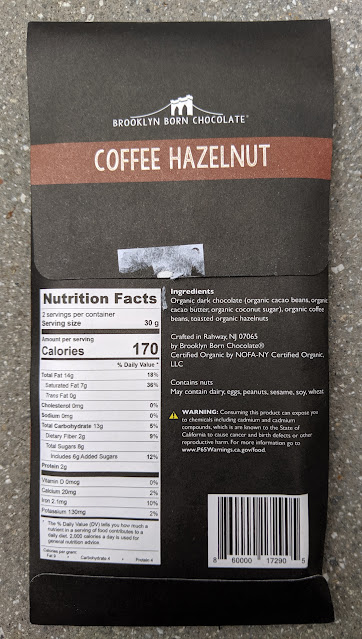 70% coffee hazelnut brooklyn born bar