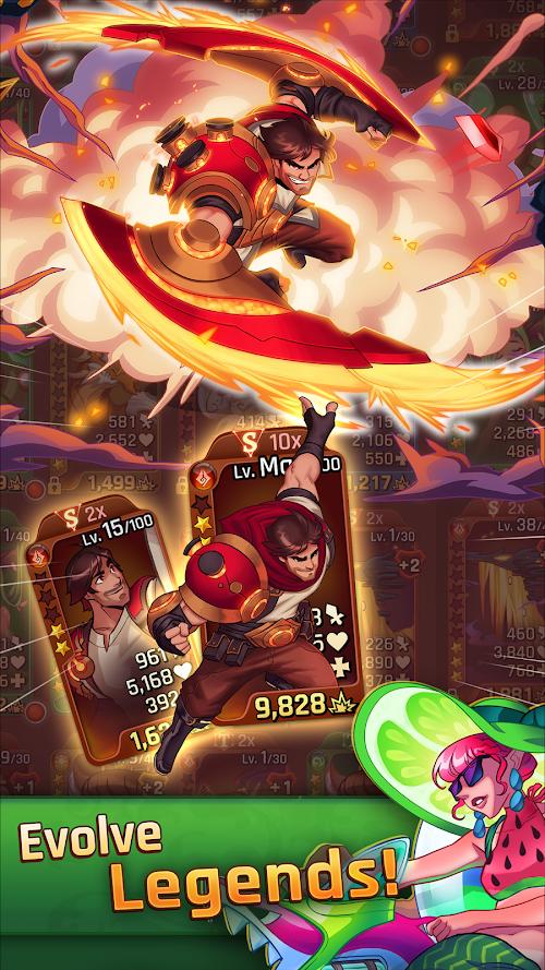 Screenshot 2 LightSlinger Heroes: Puzzle RPG 2.7.8 APK MOD