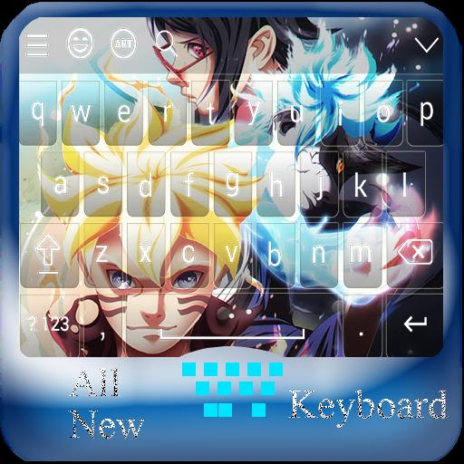Uzumaki Boruto Keyboard Emoji