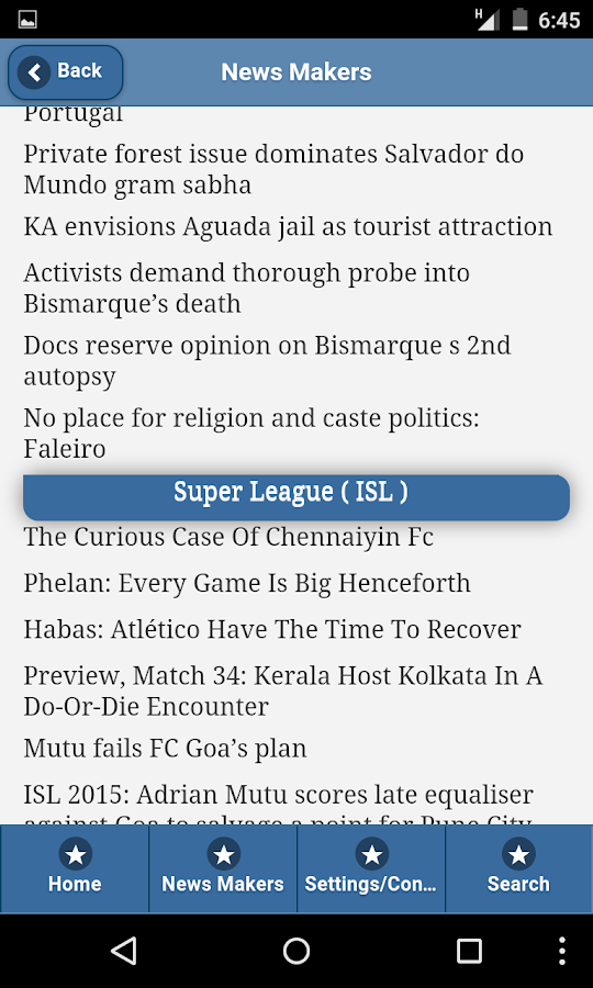 Goa Diary- screenshot