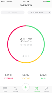 Tycoon Freelance job tracking- screenshot thumbnail
