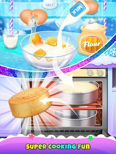 Icy Cake Desserts – Princess Ice Food 4
