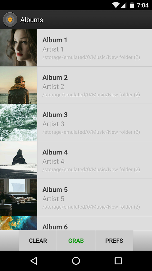 how to download songs with album art on android