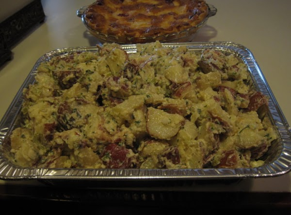 Red Skinned Potato Salad With Bacon Recipe