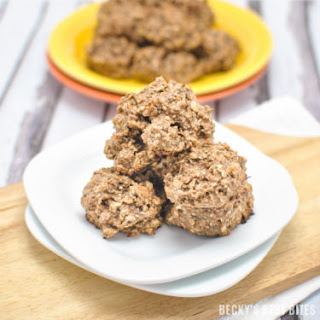 Peanut Butter Chocolate Protein Breakfast Cookies.