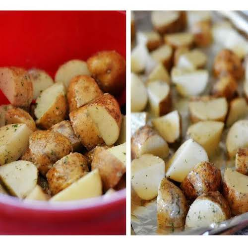 "Ranch Roasted Potatoes ""I have made these before and they ARE good!..."