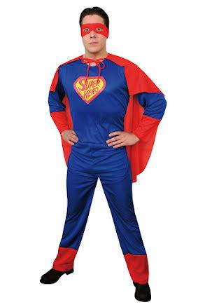 Dräkt Superhjälte