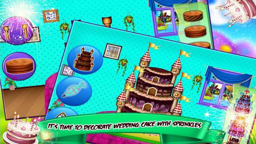 Princess Castle Wedding Cake Maker 1.1 screenshots 4