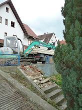 Photo: hier sieht man jetzt beide Treppen...