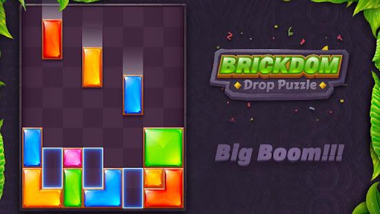 Download Brickdom - Drop Puzzle For PC Windows and Mac apk screenshot 5