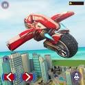 Flying Motorbike Riding Stunt icon