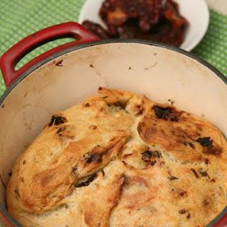 Sun-Dried Tomato Bread with Onion Recipe