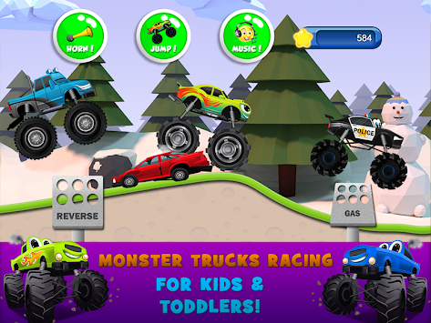 Monster Trucks Game for Kids 2 apk screenshot