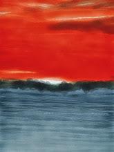 "Photo: ""Carancahua sunset"" 1.30.13 digital 8x10"