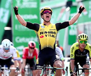 Hattrick voor Dylan Groenewegen in de Tour of Britain, Van der Poel is leiderstrui kwijt