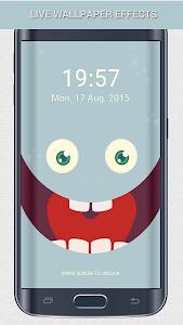 PokeMonster Go Pin Lock Screen screenshot 3