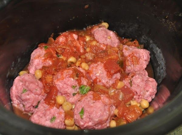 Place all ingredients in the slow cooker, turn it to hi.