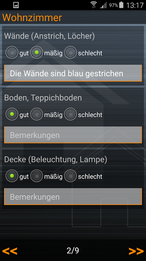 wohnungs bergabe protokoll android apps auf google play. Black Bedroom Furniture Sets. Home Design Ideas