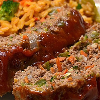 Momma's Healthy Meatloaf.