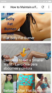 How to Maintain a Flat Tummy - náhled