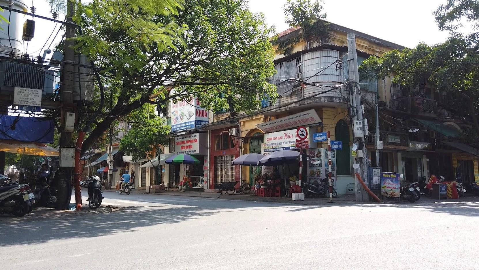 Chụp ảnh phố Lý Thường Kiệt sông Tam Bạc ở Hải Phòng 2