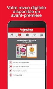 Le Moniteur des pharmacies.fr screenshot 1