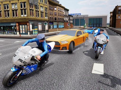 US Police Bike Chase 2020 3.7 screenshots 17