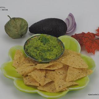 Tomatillo, Avocado Dip Recipe
