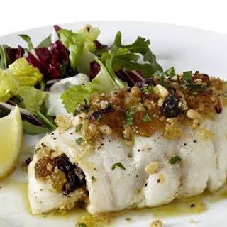 Sicilian-Style Cod.