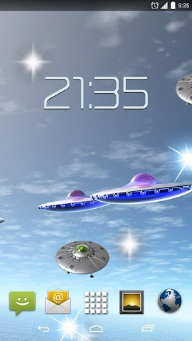 android UFO Unidentified Flying Object Screenshot 0