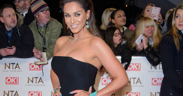 Vicky Pattison thinking about wedding dress