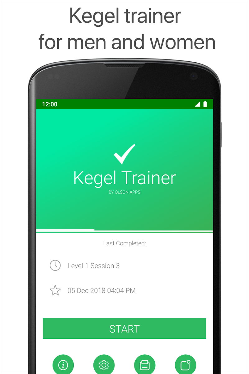Kegel Trainer - Exercises Screenshot 0