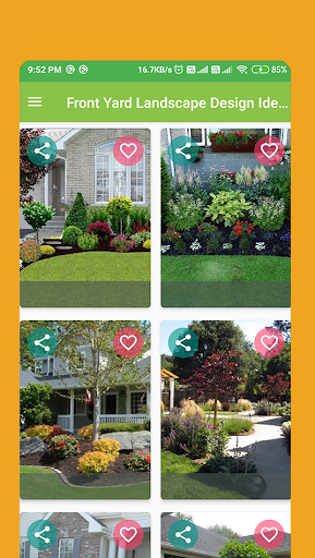 Download Front Yard Landscape Design Ideas For Android Front