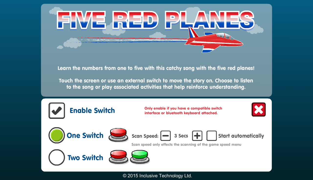 Five Red Planes- screenshot